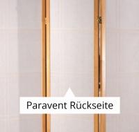 Vorschau: Paravent Doublecross Natur 6 teilig