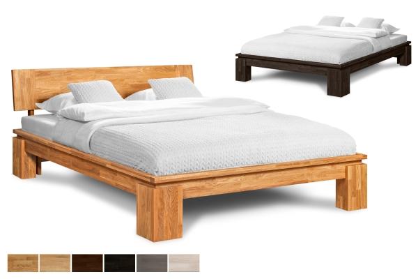 Massivholzbett Vinci
