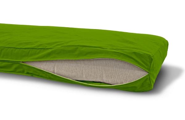 Futonbezug (Cover) 140x200 cm, Höhe 16 cm Lime