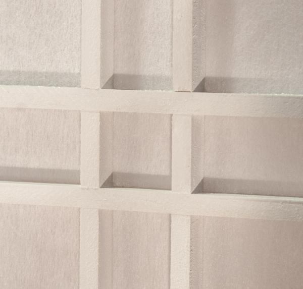 paravent doublecross wei 5 teilig paravents. Black Bedroom Furniture Sets. Home Design Ideas