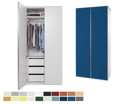Kleiderschrank Modular 16 mit 2 Türen