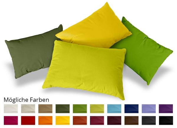 Kissen Rechteck Baumwolle 20x40 cm