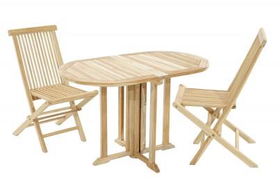 Gartenset Vancouver-Milford Tisch & 2 Stühle