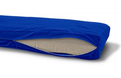 Futonbezug (Cover) 80x200 cm, Höhe 16 cm Saphir