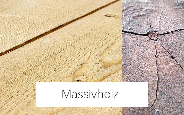 Massivholz reinigen