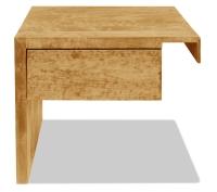 Vorschau: Nachttisch Aurelio mit Schublade (Anstelltisch, Typ 2)