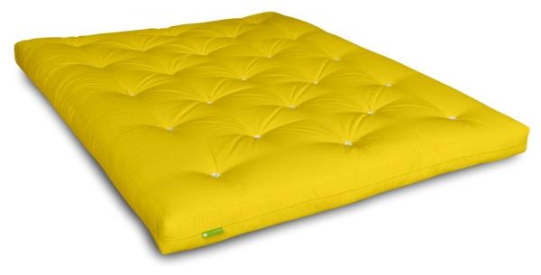 Futon Comfort Plus 80x200 cm Gelb