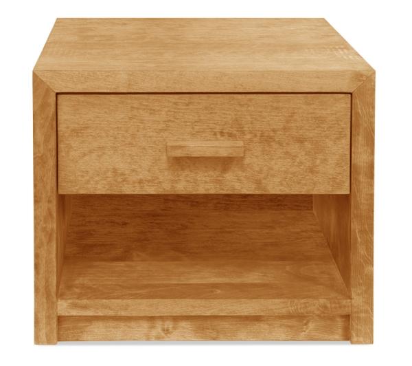 Nachttisch Aurelio mit Schublade und Ablage (Typ 4)