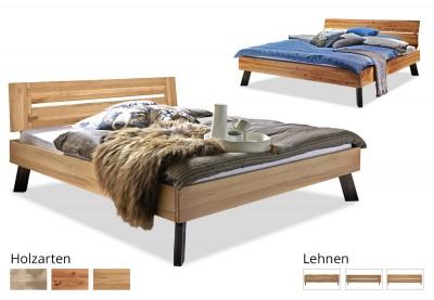 Massivholzbett Modern Sleep B
