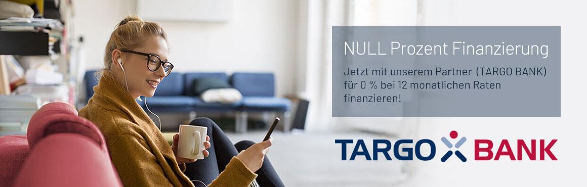 NULL Prozent Finanzierung mit der TARGO BANK