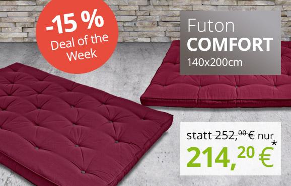 Futon Comfort 140x200 cm Special Edition