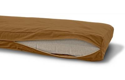 Futonbezug (Cover) 90x200 cm, Höhe 14 cm Camel