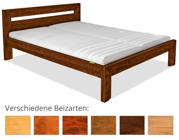 Massivholzbett Kopenhagen 6 H48