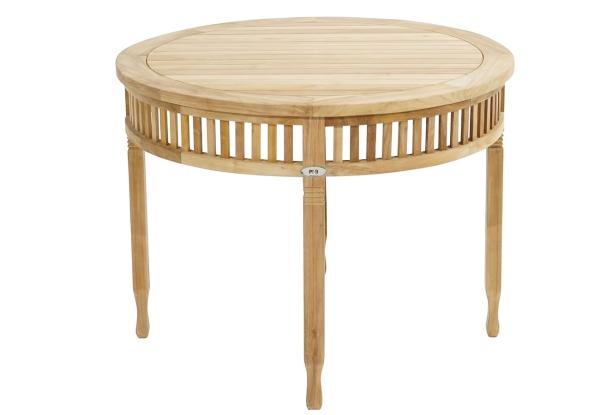 Tisch New Orleans Premium-Teak Ø 100 cm