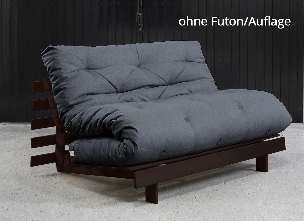 Futonsofa roots ohne futon 160x200 cm futonsofas for Schlafsofa 80x200
