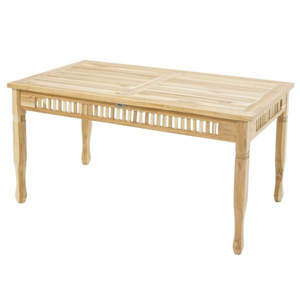 Tisch New Orleans ECO-Teak 150x90 cm