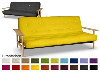 Futonsofa Balder mit Futon Comfort Plus 140x200 cm