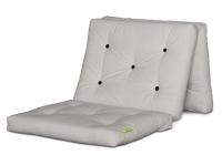 Vorschau: Gästefuton Cube Basic 80x200 cm Leinen