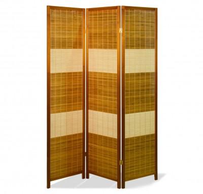 Paravent Daichi Bamboo Eiche 3 teilig