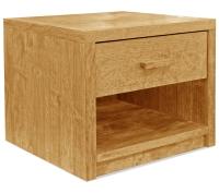 Vorschau: Nachttisch Basic mit Schublade und Ablage (Typ 4)