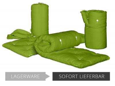 Rollfuton Gästefuton 3.0 Baumwolle 80x200 cm Lime