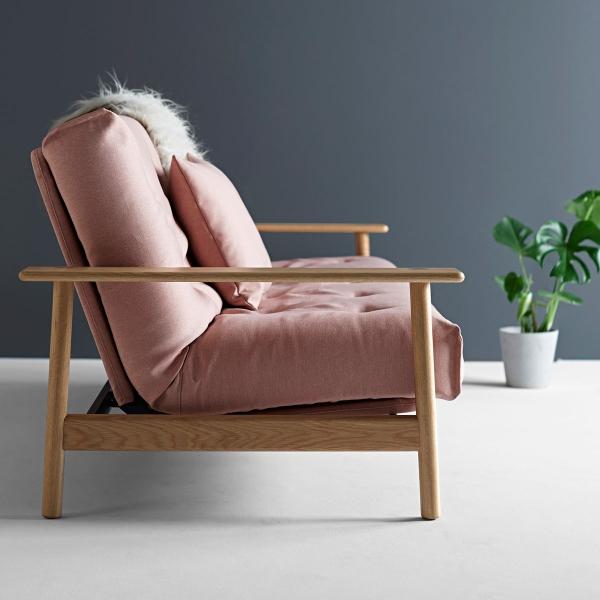Futonsofa Balder mit Futon Comfort 140x200 cm