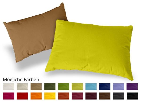 Kissen Rechteck Baumwolle 40x60 cm