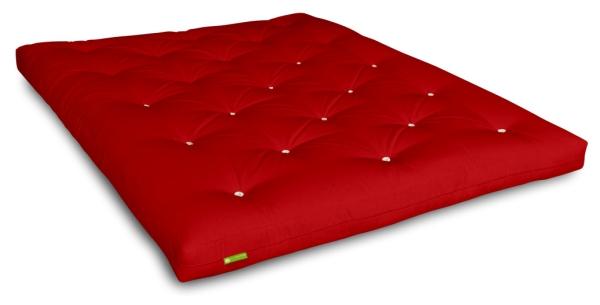Futon Comfort Plus 80x200 cm Rot