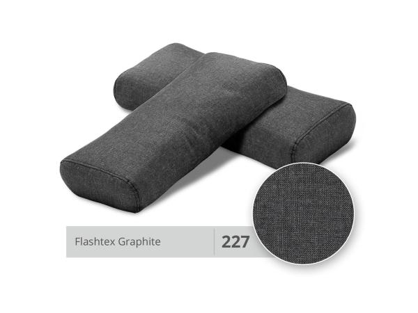 Innovation Kissen Ellipse (1 Satz) 227 Graphite Flashtex