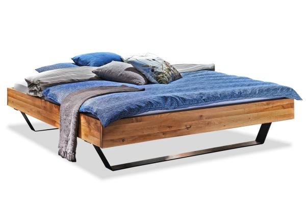 Massivholzbett Modern Sleep D 140x200 cm Eiche natur