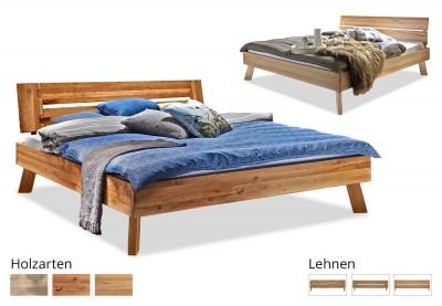 Massivholzbett Modern Sleep C