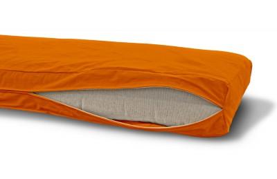 Futonbezug (Cover) 140x200 cm, Höhe 14 cm Orange