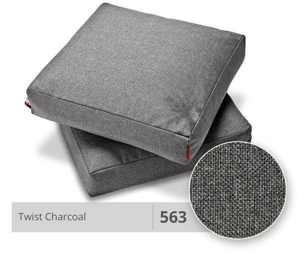 Innovation Kissensatz Square Twist Charcoal (563)
