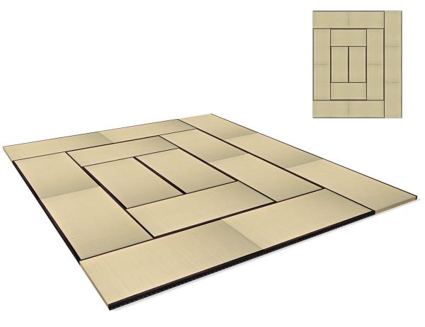 Tatami Standard Quality Set 450x540 cm