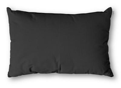 Kissen Rechteck Baumwolle 30x50 cm Grau