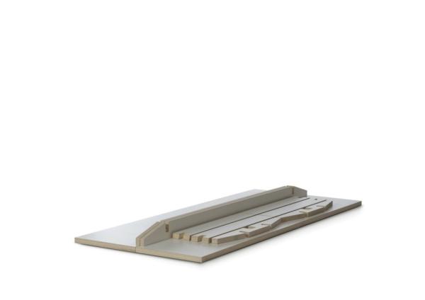 Tojo Tisch Steck 90x200 cm