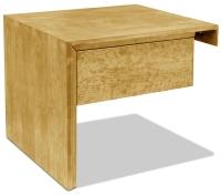 Vorschau: Nachttisch Kopenhagen mit Schublade (Anstelltisch, Typ 2)