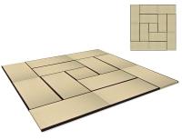 Vorschau: Tatami Standard Quality Set 450x450 cm