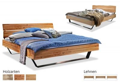 Massivholzbett Modern Sleep D