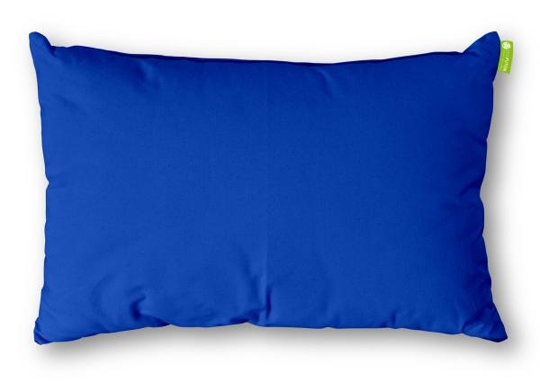 Kissen Rechteck Baumwolle 40x60 cm Saphir