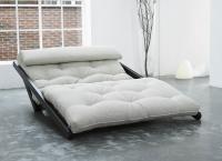 Vorschau: Relaxsofa Figo mit Futon 6.0 Kokos 120x200 cm