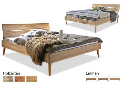 Massivholzbett Modern Sleep A