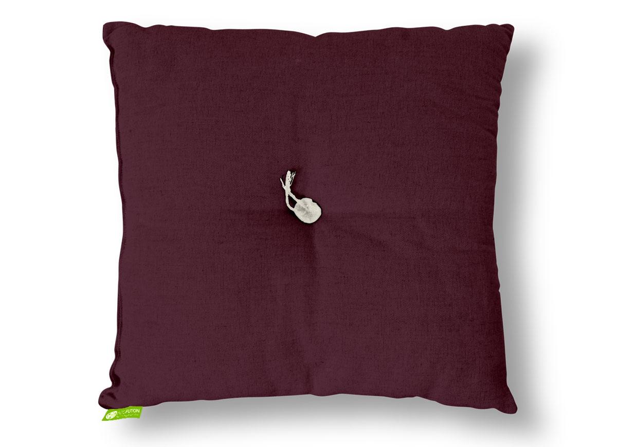 futonkissen basic 60x60 cm dunkelbordeaux sale. Black Bedroom Furniture Sets. Home Design Ideas