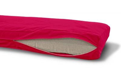Futonbezug (Cover) 160x200 cm, Höhe 16 cm Pink