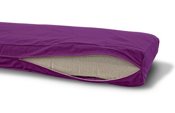 Futonbezug (Cover) 160x200 cm, Höhe 14 cm Purple