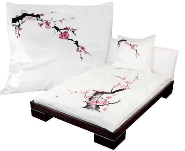 Bettwäsche Pflaumenblüte