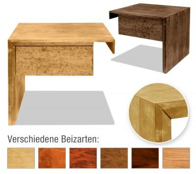 Nachttisch Kopenhagen mit Schublade (Anstelltisch, Typ 2)
