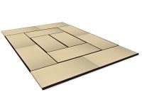 Vorschau: Tatami Standard Quality Set 360x540 cm