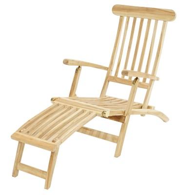 Gartenliege, Deckchair Titanic ECO-Teak