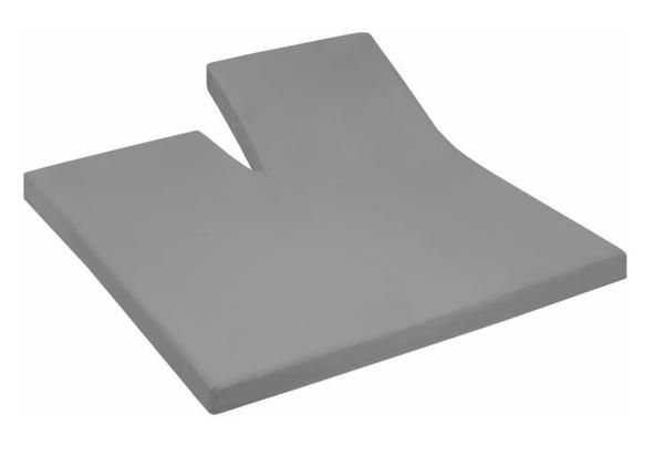 Split-Spannbetttuch mit Einschnitt Elastic Jersey Q371